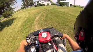 2. 05 Polaris Sportsman 800 Wheelies