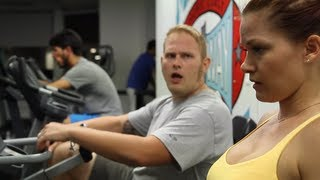 What It's Like To Be A Woman At The Gym