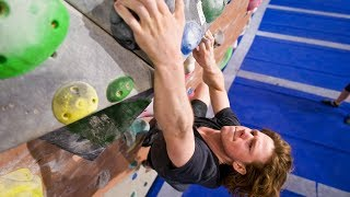 New Competition Style Problem With Nikken by Eric Karlsson Bouldering
