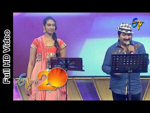 Video Mano and Anjana Sowmya Performs - Nath Nath Badrinath Song in Eluru ETV @ 20 Celebrations download in MP3, 3GP, MP4, WEBM, AVI, FLV January 2017