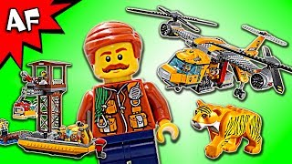 Haul in fresh supplies at the exploration site! Gear up to tackle the LEGO City jungle with the Jungle Air Drop Helicopter! Use the ...