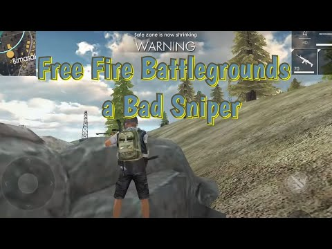 Free Fire Battlegrounds - A Bad Sniper