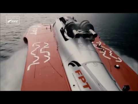 Fabio Buzzi (FB Design) - Record a 277 km/h sul lago di Lecco