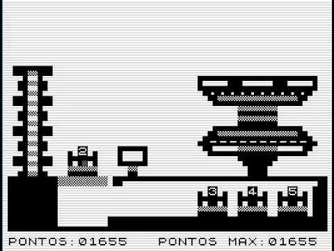 Patrulha Espacial - A ZX81 Game