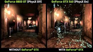 Batman: Arkham City NVIDIA GeForce GTX PhysX PC Trailer