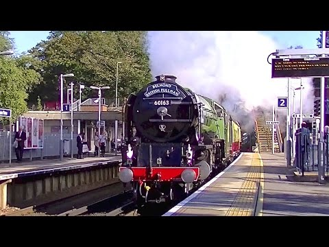 LNER A1 60163 'Tornado' at Virginia Water with The Belmon...