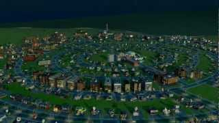SimCity is Freaking Awesome - Timelapse