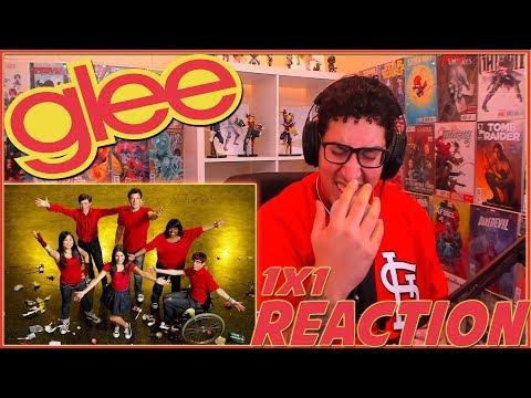 """Glee REACTION Season 1 Episode 1 """"Pilot"""" 1x1 Reaction!!!"""