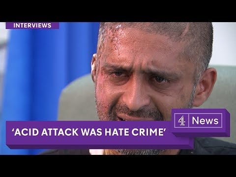 Video 'Acid attack was a hate crime': London victim speaks out download in MP3, 3GP, MP4, WEBM, AVI, FLV January 2017