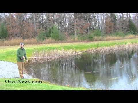 Orvis - Fly Casting Lessons - The Roll Cast Pickup