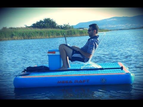 Mega Raft - Piattaforma Gonfiabile Rigida Multiuso