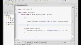 MySQL Datenbank Java  Eclipse JDBC Tutorial