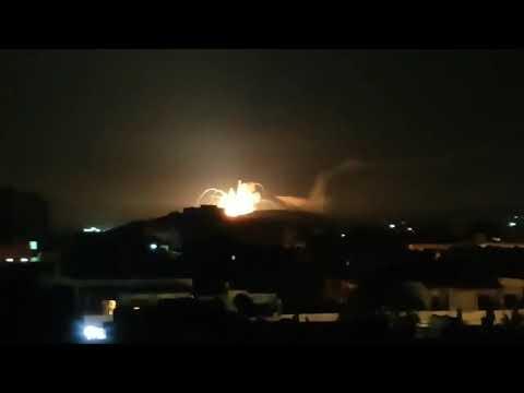 תקיפות עוצמתיות של ישראל בסוריה