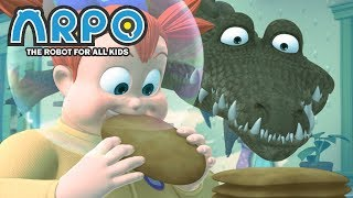 Video ARPO The Robot For All Kids - Water Woes | Full Episode | Cartoon for Kids MP3, 3GP, MP4, WEBM, AVI, FLV Desember 2018