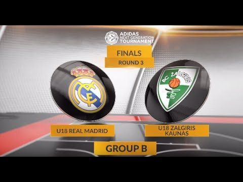 EB ANGT Finals Highlights: U18 Real Madrid-U18 Zalgiris Kaunas