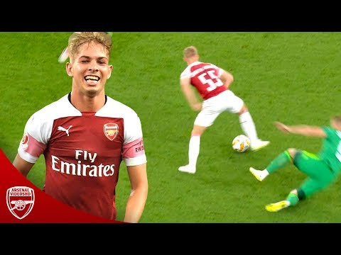 18 Year Old Emile Smith Rowe Is Outstanding! - 2018/19