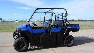 6. SALE $13,199:  2017 / 2018 Kawasaki Mule Pro FXT EPS in Vibrant Blue Overview and Review