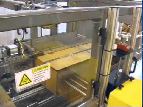HCE Hot Melt 35 cpm High Speed Case Erector