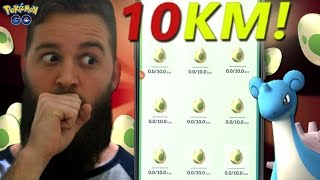 I've finally got a full inventory of 10km eggs.. THEY ARE READY TO HATCH! LET'S SEE WHAT I GET! DON'T FORGET TO SUBSCRIBE FOR MORE CONTENT! Follow me on Soci...