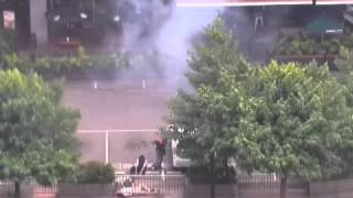 La vidéo choc des deux terroristes qui se font exploser par erreur à Djakarta