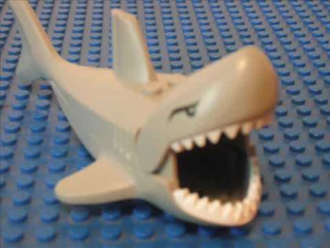 Lego Shark Attack! (Stop Animation)