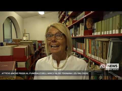 ATTESO ANCHE PRODI AL FUNERALE DELL'AMICO ALDO TOGNANA | 25/06/2020