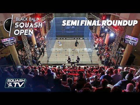 Squash: CIB Black Ball Open 2018 - Semi-Final Roundup