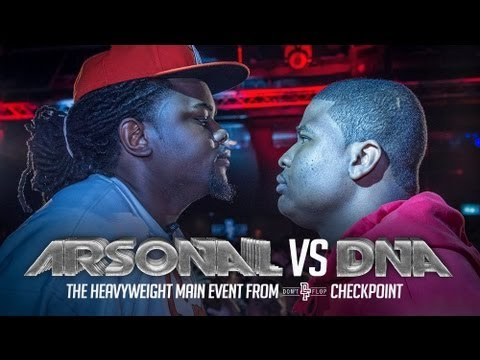 Don't Flop Rap Battle: ARSONAL VS DNA (2013)