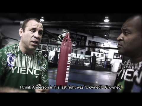 Wanderlei Silva  Rafael Cordeiro talk Anderson Silva vs Belfort Shogun and the MMA Awards