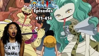 Download Video LUFFY VS THE GORGON SISTERS   ONE PIECE EPISODES 411, 412, 413, 414 REACTION MP3 3GP MP4