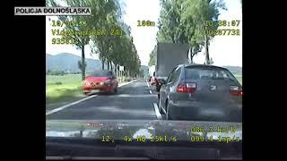 Konkretny pościg za pijanym kierowcą na dk8