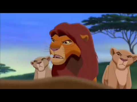 The Lion King Simba's Pride Zira Confronts Simba