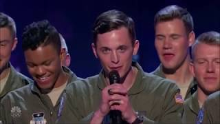 Video US Military A-Capella Group CRAZY Discipline WOW! America's Got Talent 2017 MP3, 3GP, MP4, WEBM, AVI, FLV Agustus 2017