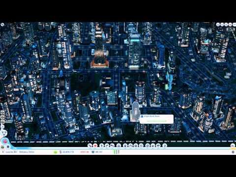 """""""Building Tokyo"""", A Look at Shinjuku / Manual Highway Junction - SimCity (2013)"""