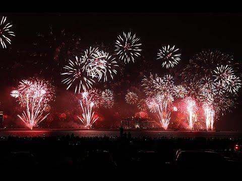 Nova godina uživo : Dubai Fireworks 2017 New Year – live