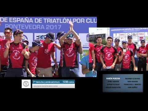 Buenas carreras del TeamClaveria en el Cto de España de Triatlón por Clubes en Pontevedra