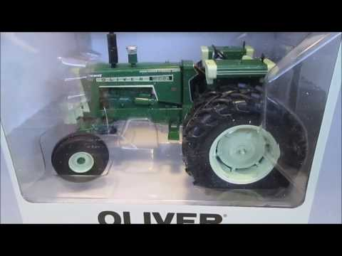 Toy Tractor Times Oliver 1955 UNBOXING and REVIEW