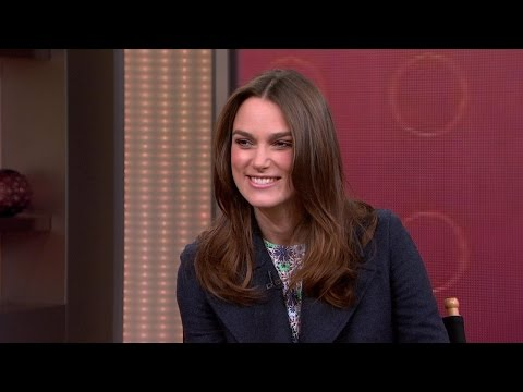 Keira Knightley Sheds Light on Her New Film, 'The Imitation Game'