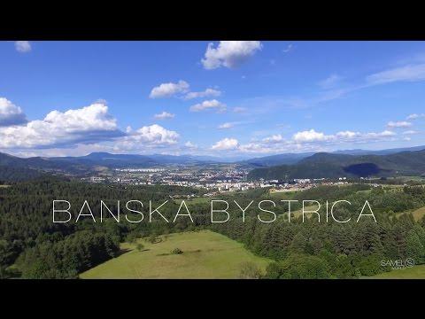 VIDEO: Letecké pohľady na Bystricu a jej okolie
