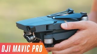 The Mavic Pro is half the size of a DJI Phantom, but even more powerful. Subscribe: https://goo.gl/G5RXGs Check out our full ...