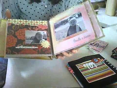 [ Scrapbooking ] : les différentes reliures d'un mini album