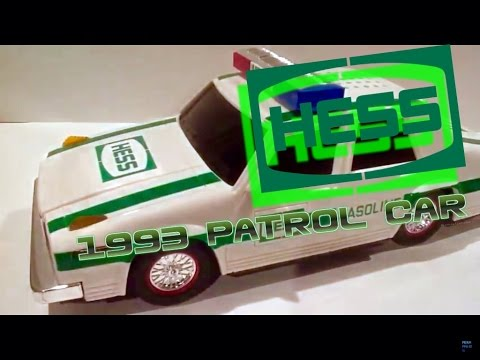 Hess - Hess Truck Friday #7: Video Review of the Hess Toy Truck: 1993 Hess Patrol Car. Follow me on Twitter! https://mobile.twitter.com/pixarprime10.
