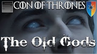 The Old Gods - Game Of Thrones Season 7 Con Panel - feat. Rawrist Because Geek Westeros HistorySubscribe! http://tinyurl.com/o93l5gnNEW HATS! https://teespring.com/stores/smokescreenvids**Potential Spoilers**Game of Thrones Season 7 is almost here. Here is a 20 minute segment on the old gods panel recently held at Con Of Thrones. This featured Game Of Thrones Season 7 Youtuber's SmokeScreen, Rawrist, Because Geek, and Aziz form Westeros History! Thanks for watching! Please like, share and subscribe!Game of Thrones Season 7 Playlist: https://www.youtube.com/playlist?list=PLmRQBLduDYDQRHGVugBO5-L6XfCGaV5pcSupport SmokeScreen on Patreon: https://www.patreon.com/smokescreenvidsOne Time Donate: https://youtube.streamlabs.com/smokescreenvids1Game of Thrones Foreshadowinghttps://www.youtube.com/playlist?list=PLmRQBLduDYDQRHGVugBO5-L6XfCGaV5pcHow Game of Thrones Will End for Jon Snowhttps://www.youtube.com/playlist?list=PLmRQBLduDYDQP1OjDLR4L2oNxw4qz1-VECheck my other channels!SmokeScreen Vlogs: https://www.youtube.com/smokescreenvlogsSmokeScreen Gaming: https://www.youtube.com/smokescreenvidsgaming_____________________________________________________Become a Patreon: https://www.patreon.com/smokescreenvidsGet My Nerdy T-Shirts here: http://shrsl.com/?~aby2Support SmokeScreen by shopping on Amazon: http://tinyurl.com/ppogxl2Shop Think Geek: http://www.jdoqocy.com/click-8070392-12561902-1460987025000GeekFuel (get a GOT item in your first box) https://www.geekfuel.com/smokescreen_____________________________________________________Playlists:Game of Thrones / ASOIAF: https://www.youtube.com/playlist?list=PLmRQBLduDYDSph052nREYMIpDlUHzJlPBWestworld Season 1: https://www.youtube.com/playlist?list=PLmRQBLduDYDRbXeC-bdFWC_WJ3CmykSUHStar Wars: https://www.youtube.com/playlist?list=PLmRQBLduDYDSyW8W17-AxNYLjetGQvDkm______________________________________________________Send Stuff:Lochmoor ProductionsPO Box 1011Kannapolis, NC 28083Follow Me on Social: Facebook: https://www.facebook.com/smokescreenvidsTwitter: https://twitter.com/smokescreenvids @smokescreenvidsInstagram: https://instagram.com/smokescreenvids @smokescreenvidsWebsite: http://smokescreenvids.comPatreon Executive Producers:Hoss Griffin, VolGuy10, Lala Gig , Kissa Powell, Marc Joseph aka The Snow In Winterfell, Marylin Bentley, JoAnna, Sean Hayes, Doc Holiday, Anonymous, Goska, HoonJive, KieranD20, Nicki Snow, Lo HortonPatreon Producers: John Carey, KSoze1024, Lauren Young ,Sarah Pearce, Jessica McWhorter, Lori Perry, Peach, Lo Horton, Anie Smith, Maureen Grigas, Nicole Kron, Andreas Aass, Vitruvius, MamaQB, Trishyjane, Ashley Smith, Jack Welsh, Claire McKen, Red River Giant, Lauren Wagstaff, Robert Thatcher, Calebflub, Jason Targaryen, Heath Hinton, Richard Clark, Andrew Smith, Goska Biczysko, Karri Neves, Demetrios, Kathryn Bassett, Pri Figueirdo, Maie, Sanford Hoffman, Heddy Hop, Ricky, Stacy Fournet, Anesha Smith, Darrin Reisinger, Zombie Hoax, Lawrence Froncek, Tameka, Steve Mckenna, Jessy C., Joe Gaylord, Cait, Luis Teleno, Magaly , Taylor, Marilyn Benitez, Amber Tilton, Jenni Upcott, Kimberly Sherman, Betsy Leiss, Joanne Long, KatS, The Sennett, CinnE, Michele, Dale Cooper, Denny D'Intino, Nynke Bouma, Jamal, AvecRali, Killerfrost419, Kimberly Genova, Lady Laxara, Carol Funk, Keltia Breton, Vasilie Crisan, Alexis Bell, Ygritte's Bow, Bolo7678, Mayra Perez Colon, Shawn Shifflett, Hairless Oyster, Barbara Chetti, Shahade Fonville, Crawdaddct, Stephen Robinson