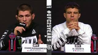 Video [FULL] UFC 223 press conference for Khabib Nurmagomedov vs. Al Iaquinta | ESPN MP3, 3GP, MP4, WEBM, AVI, FLV Februari 2019