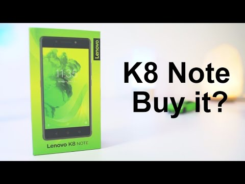 8 Reasons to Buy Lenovo K8 Note