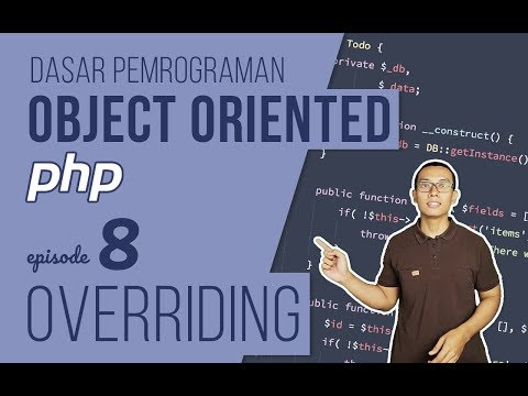 OOP DASAR pada PHP #8 - Overriding