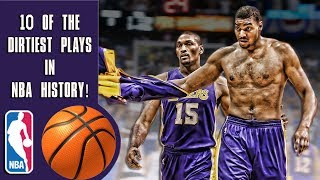 Video 10 of the dirtiest plays in NBA history! MP3, 3GP, MP4, WEBM, AVI, FLV November 2018