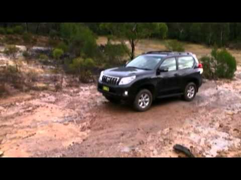 Toyota Prado 3 Door Test – Allan Whiting
