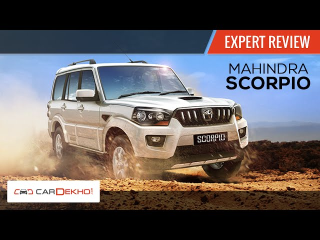 2014 New Mahindra Scorpio | Expert Review
