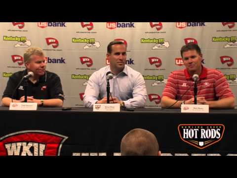WKU Hot Rods Press Conference